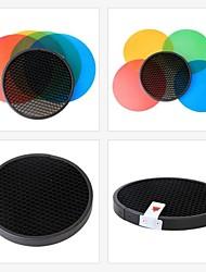 GODOX pacote de gel de cor&grade de reflector ad-s11 para wistro GODOX de flash series speedlite