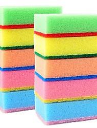 10 pcs esponja limpa, esponja 9x6x3 cm (3.5x2.4x1.2 inch)