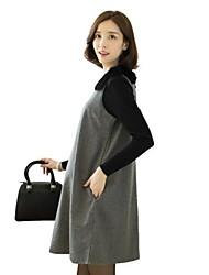 robes sans manches maman de mode édition des marées han