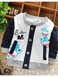 Boy's Cotton Jacket & Coat , Spring/Fall Long Sleeve