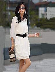 Antonia Women's Fashion Chiffon Loose Fit Dress