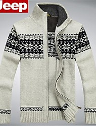 2014 new Afs Jeep CARDIGAN SWEATER MENS knit sweater counter genuine mens jacket