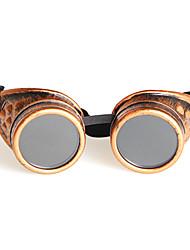 Anti-Reflective Resin Round Plastic Geek & Chic Sunglasses
