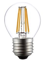 ON E26/E27 4W 4 COB 400 LM Warm White G45 edison Vintage LED Filament Bulbs AC 220-240 V