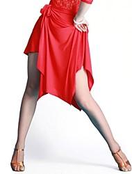 dancewear viscosa danza latino gonna per le signore più colori