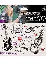 Fashion Temporary Tattoo Body Art Waterproof Stickers Safe Removable Multi Style 061