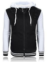 Men's Zip Hooded color G Monogram Embroidery Sweater Coat