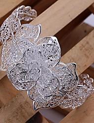 Bracelet Argenté Sans pierre Femme
