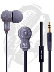 bayasolo 532 cable plano In-Ear auriculares con micrófono para iPod / iPod / phone / mp3