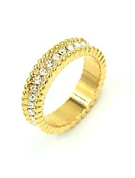 Women's New Golden Fashion Couple Rings