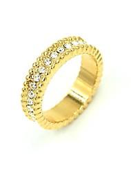 Women's New Golden Fashion Couple Rings