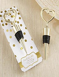"""Heart of Gold"" Bottle Stopper"