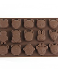 Ice Lattice Ice Mold - Forest Animals