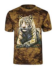 citysallor Herrenmode 3d Druck Kurzarm-T-Shirt
