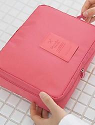 Makeup Storage Cosmetic Bag / Makeup Storage Solid 21*16*8 Grey / Blue / Pink