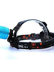 CREE T6 LED Headlight Glare Headlights Rotate The Focus Straight Rechargeyour Fishing Hunting Lights