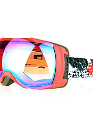 scratch TPU resistente gafas de esquí de moda