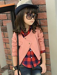 Girl's PU Jacket & Coat , All Seasons Long Sleeve