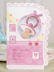 Convites de casamento Cartões de convite Dobrado de Lado Não personalizado