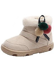bbgobbworld Outdoor-Schuhe für Männer und Frauen babycoral Samt dicker Baumwolle-gepolsterte rutschfeste weiche untere Baumwolle Stiefel