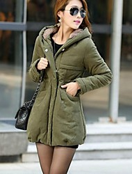 Women's Fashion Hooded Thicken Coat