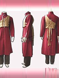Naruto Gaara First Generation Red Cosplay Costume