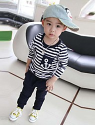 Boy's Cotton Clothing Set , Winter/Spring/Fall Long Sleeve