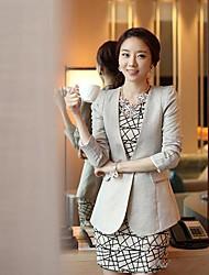 temperamento de la manera de shangfei ™ mujeres delgadas de vestir exteriores