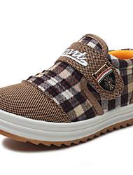 Zapatos de bebé - Sneakers a la Moda - Exterior / Casual - Tela - Marrón