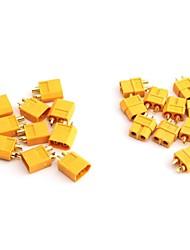 neewer® 10 Paar XT60 xt-60 männlich weiblich Rundstecker Stecker für rc lipo Batterie