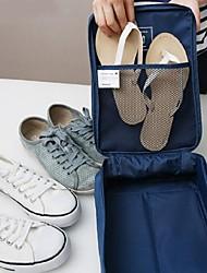 creativa a prueba de agua viajar zapatos paquete de almacenamiento