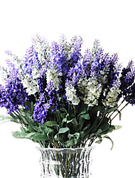 emulational zehn Filialen Lavendel, 3pcs / set