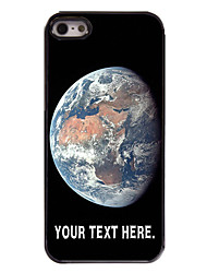 Personalized Case The Earth Design Metal Case for iPhone 5/5S