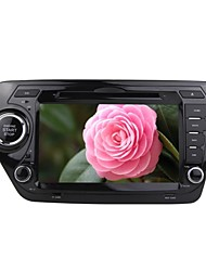 rungrace android 8 polegadas tela TFT de 2 din no painel do carro dvd player para kia k2 com bluetooth, gps, RDS, wifi, ipod, ISDB-T