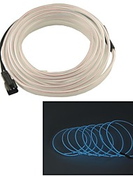 automobile 2m lungo 7 millimetri di diametro flessibile el striscia filo neon glow Rope- (12v)