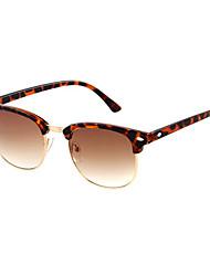 Anti-Fog Men's Browline Plastic Fashion Sunglasses