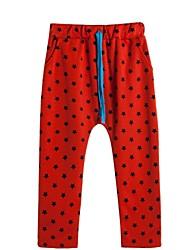 Pantalons Boy Galaxie Toutes les Saisons Mélange de Coton