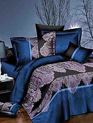 baolisi® 3D Fashion Comfortable Floral Print Bedding Four Piece