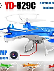 YD829 RC Drone With HD Camera One Key 3D Flip 2.4G 4CH 6Axis Helicopter Quadrocopter Headless Mode
