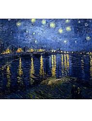 noite estrelado por Vincent van Gogh de design de corpo inteiro caixa de plástico de proteção para ar / livro de 11 polegadas de 13 polegadas novo mac
