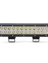 dy-sc6072 72w 6120lm 6000K 24-CREE LED Weißlichtpunktstrahl Geländelampe (10-30 V DC, schwarz)