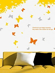 Wall Stickers Wall Decals, Butterflies PVC Wall Stickers