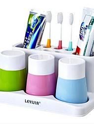 cremalheira escova inovadora copo dente gargarejo casais Yagang lavagem veículo de passagem dente terno uma família de três