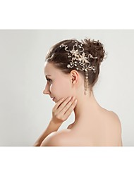 Women's/Flower Girl's Rhinestone/Crystal Headpiece - Wedding/Special Occasion/Outdoor Headbands/Hair Combs