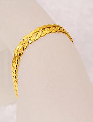 Seven gold Women's Gorgeous 24K Gold Plating Bracelet