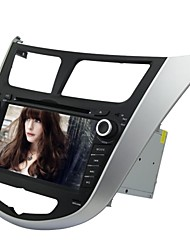 Rungrace 7-inch 2 Din TFT Screen In-Dash Car DVD Player For Hyundai Verna With Bluetooth,Navigation-Ready GPS,RDS,ISDB-T