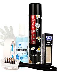 produtos de limpeza para sapato de camurça de couro 420ml 1 set (mais cores) pulverizar