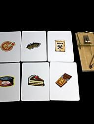 adereços mágicos - que procuram a ratoeira cartão