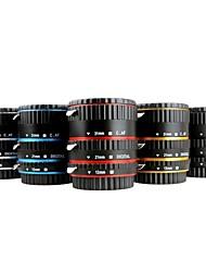elettronica di montaggio TTL auto focus af micro tubo di prolunga set 13 millimetri 21 millimetri 31 millimetri per canon fotocamera dslr