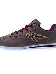 scarpe da tennis pattini di modo degli uomini correnti di faux scarpe di camoscio più colori disponibili